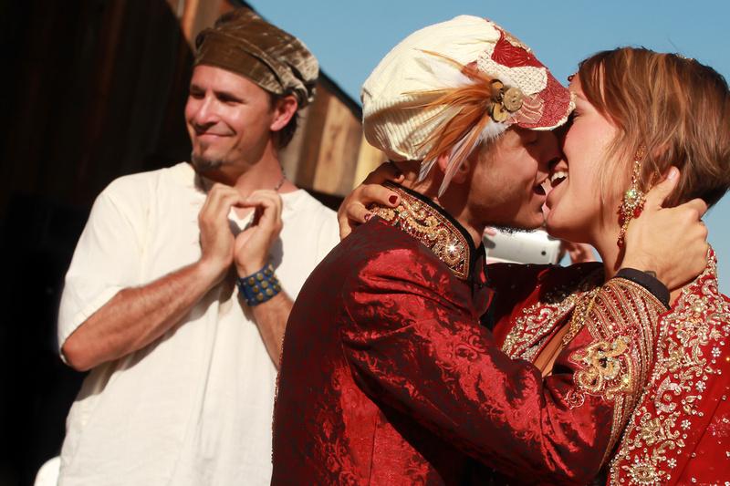 Colorado Red Rocks Wedding