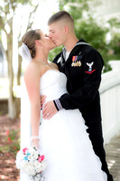 St. Mary's Navy Wedding