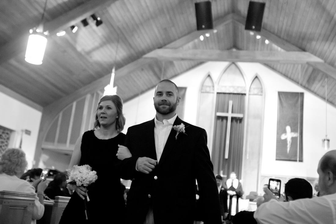 Lakewood United Methodist Church Romantic Wedding