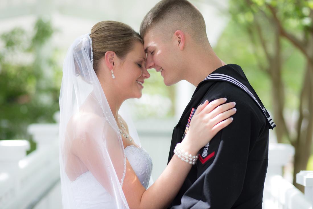 St. Mary's Navy Wedding
